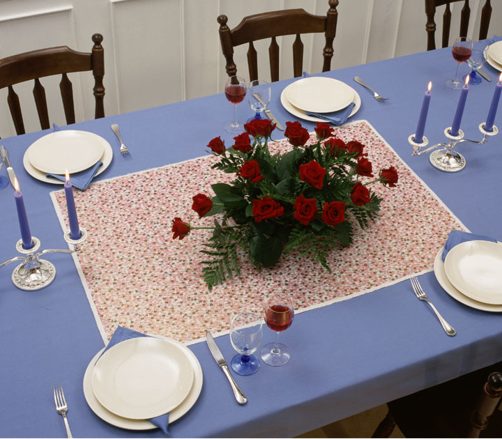 Professional Decor with Dinner Table Display.
